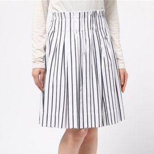 Kate Spade Broome Street Striped Paper Bag Skirt